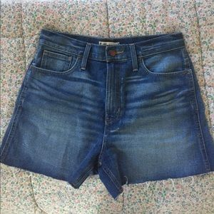 """Madewell """"The Perfect Jean Short"""""""